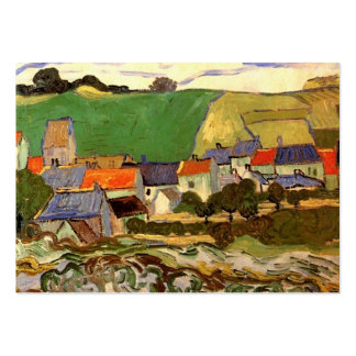 View of Auvers by Van Gogh Business Cards