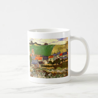 View of Auvers Vincent van Gogh Coffee Mugs