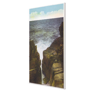 View of Bald Head Cliffs, the Gorge Canvas Print
