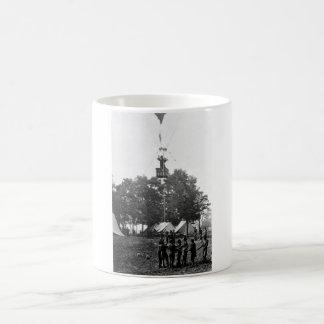 View of balloon_War Image Coffee Mug