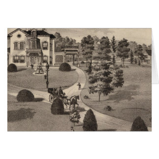 View of Brattleboro Vermont Greeting Card