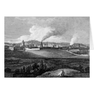 View of Bristol from Pile Hill, engraved by Card