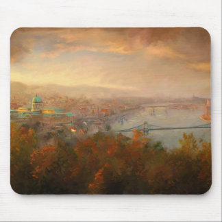 View of Budapest Mouse Pad
