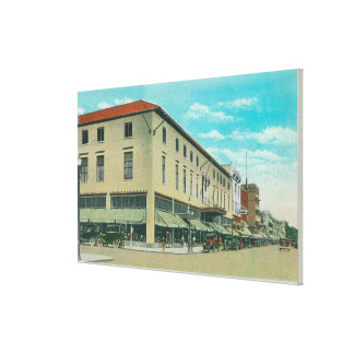 View of Business Block on Idaho Street Canvas Prints
