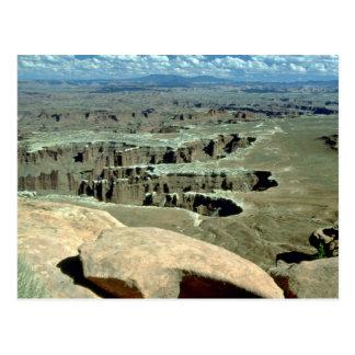 View of Canyonlands National Park, Utah Post Card