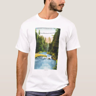 View of Capilano Suspension Bridge # 2 T-Shirt