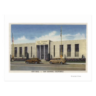 View of City Hall Postcard