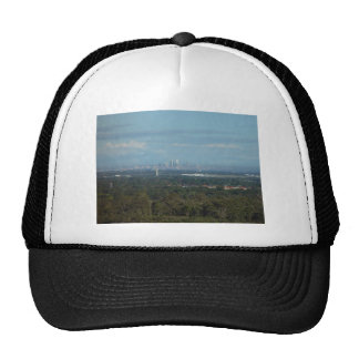 View Of City Of Perth Mesh Hat