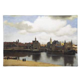View of Delft by Johannes Vermeer Placemats