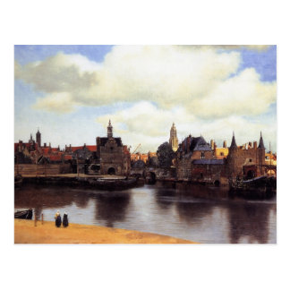 View of Delft Postcard