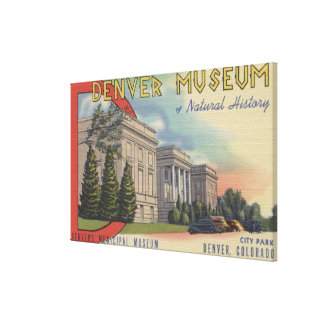 View of Denver Museum of Natural History Stretched Canvas Prints