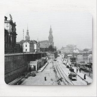 View of Dresden from the Bruehlsche Terrasse Mouse Pad