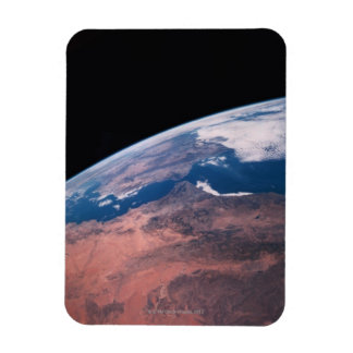 View of Earth from Space Vinyl Magnet
