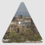 View of Edinburgh Stickers