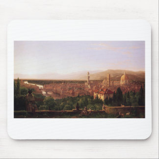 View of Florence from San Miniato by Thomas Cole Mouse Pad