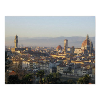 View of Florence Poster