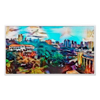 View Of Fort Canning - Watercolour Print
