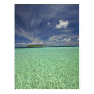 View of Funadoo Island from Funadovilligilli 2 Postcard