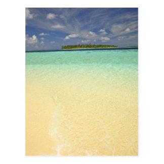 View of Funadoo Island from Funadovilligilli Postcard