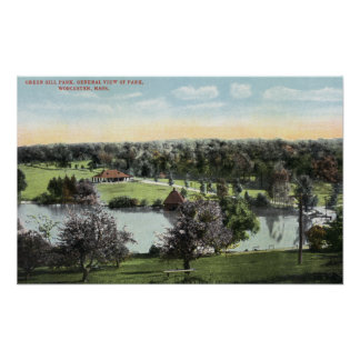 View of Green Hill Park Poster