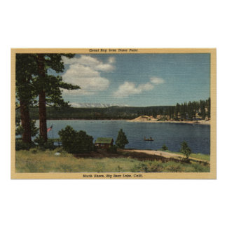 View of Grout Bay from Dana Point Poster