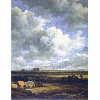 View Of Haarlem By Ruisdael Jacob Isaacksz. Van (B Standing Photo Sculpture