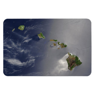 View of Hawaii from Space Rectangular Magnet