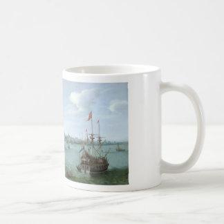 View of Hoorn: Hendrick Cornelisz Vroom Coffee Mug