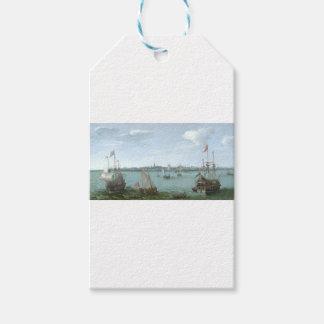 View of Hoorn: Hendrick Cornelisz Vroom Gift Tags