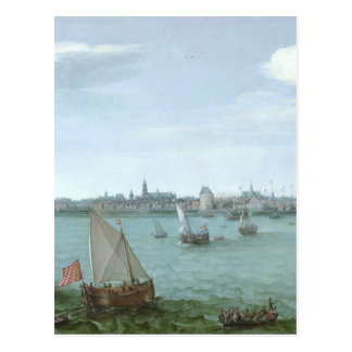 View of Hoorn: Hendrick Cornelisz Vroom Postcard