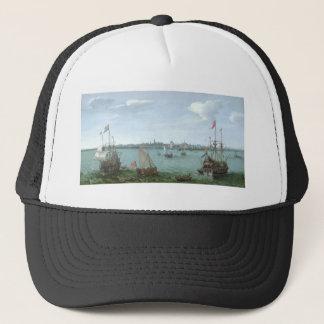View of Hoorn: Hendrick Cornelisz Vroom Trucker Hat