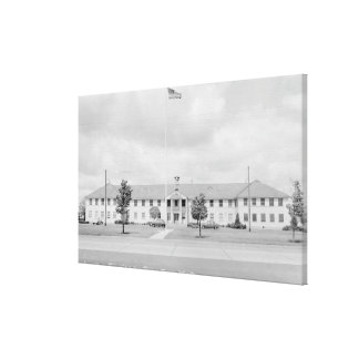 View of HQ Building Canvas Print