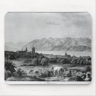 View of Lausanne Mouse Pad