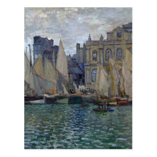 View of Le Havre by Claude Monet Postcard
