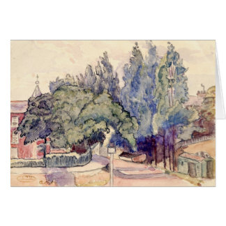 View of London Street by Lucien Pissarro Card