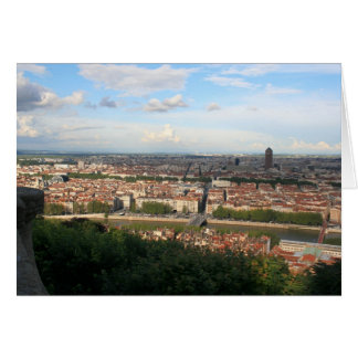 View of Lyon Greeting Card