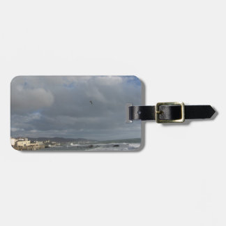 View of Mascagni terrace in a cloudy day Luggage Tag