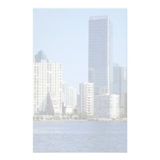 View of Miami Skyline Customised Stationery