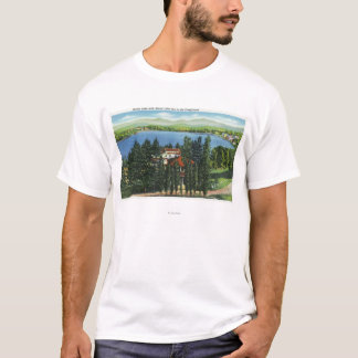 View of Mirror Lake and Mirror Lake Inn T-Shirt