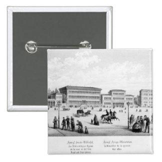 View of Munich 1869 Pin