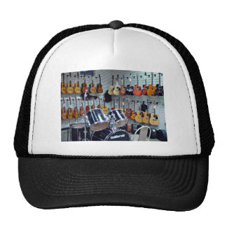 View of Musical instruments Cap