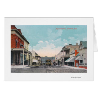 View of Myers StreetOroville, CA Greeting Card