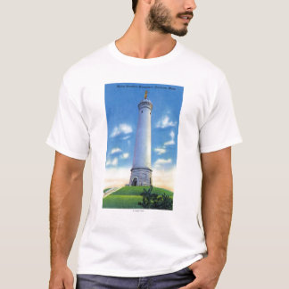 View of Myles Standish Monument T-Shirt