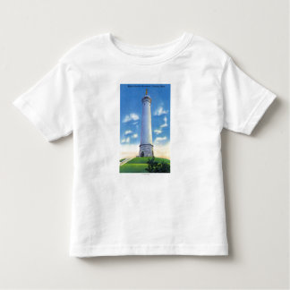 View of Myles Standish Monument Toddler T-Shirt