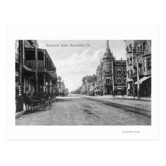 View of Nineteenth Street # 2Bakersfield, CA Postcard