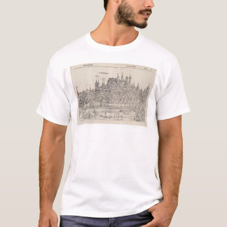 View of Nuremberg from Nuremberg Chronicle (1458) T-Shirt