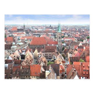 View of Nuremberg Postcard