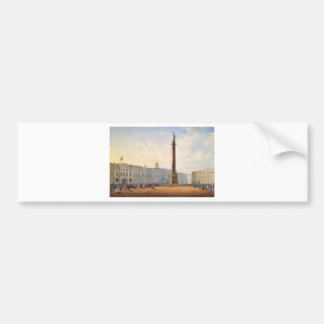 View of Palace Square and Winter Palace Bumper Sticker