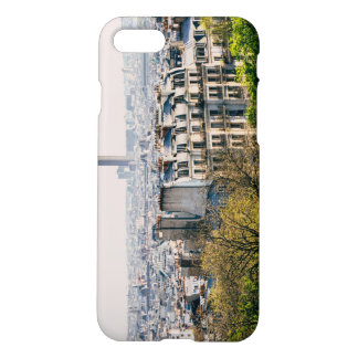 View of Paris From Montmartre Hill iPhone 7 Case