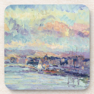 View of Paris oil on canvas Coaster